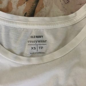 Old Navy Tops - old navy white tee